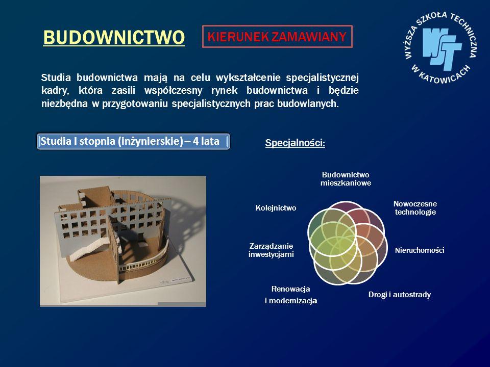 BUDOWNICTWO Budownictwo mieszkaniowe Nowoczesne technologie Nieruchomości Drogi i autostrady Renowacja i modernizacja Zarządzanie inwestycjami Kolejni