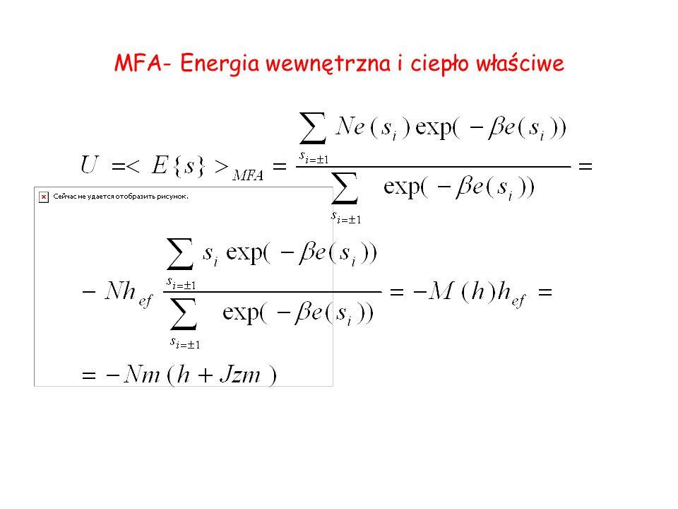 MFA- Energia wewnętrzna i ciepło właściwe