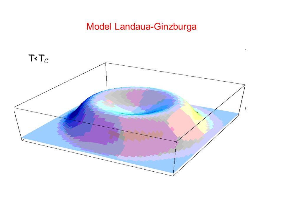 Model Landaua-Ginzburga T<T C