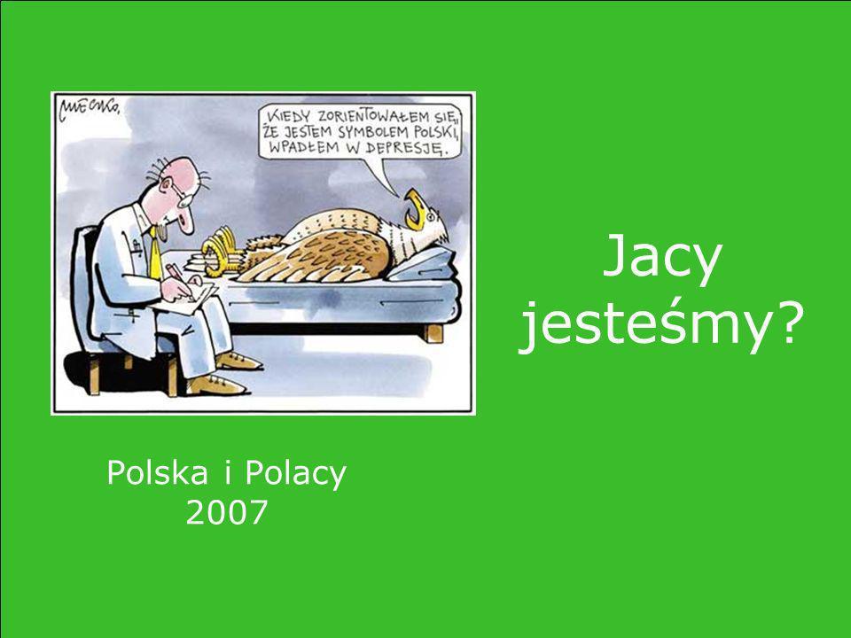 Polska i Polacy 2007 Jacy jesteśmy?