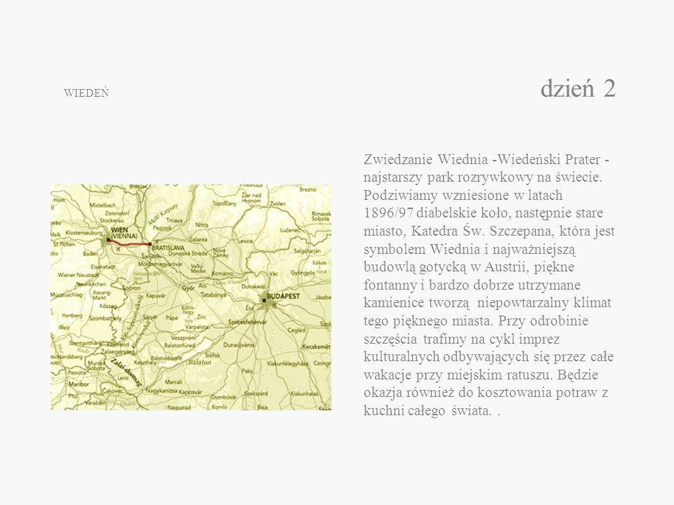 WIEDEŃ dzień 2 Zwiedzanie Wiednia -Wiedeński Prater - najstarszy park rozrywkowy na świecie. Podziwiamy wzniesione w latach 1896/97 diabelskie koło, n