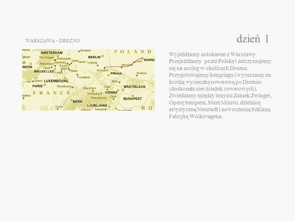 WARSZAWA – DREZNO dzień 1 Wyjeżdżamy autokarem z Warszawy.