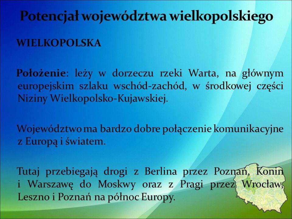 Obszar: 29.826 km ² tj.9,5% terytorium Polski. Ludność: około 3 mln 00 tys.