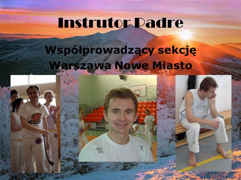 Instrutor Padre Współprowadzący sekcję Warszawa Nowe Miasto