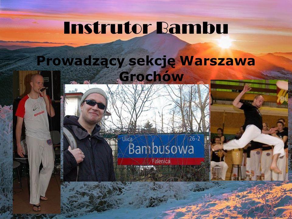 Instrutor Bambu Prowadzący sekcję Warszawa Grochów
