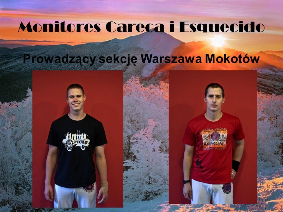 Monitores Careca i Esquecido Prowadzący sekcję Warszawa Mokotów
