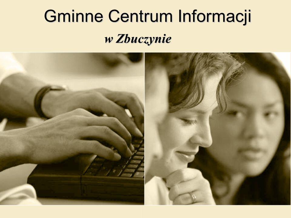 Gminne Centrum Informacji w Zbuczynie