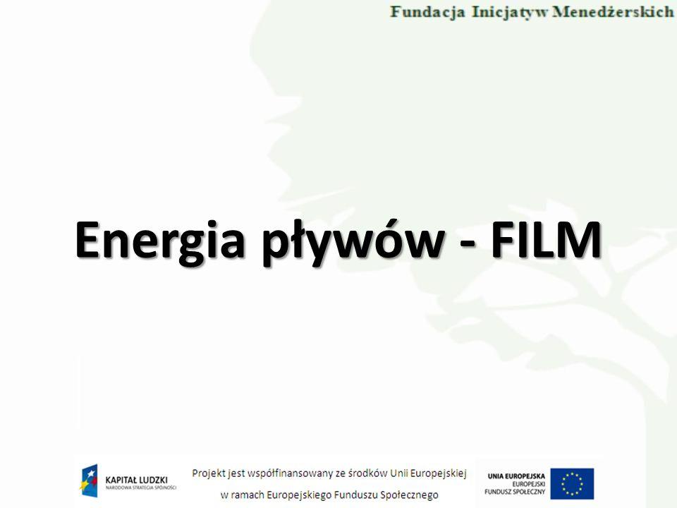 Energia pływów - FILM