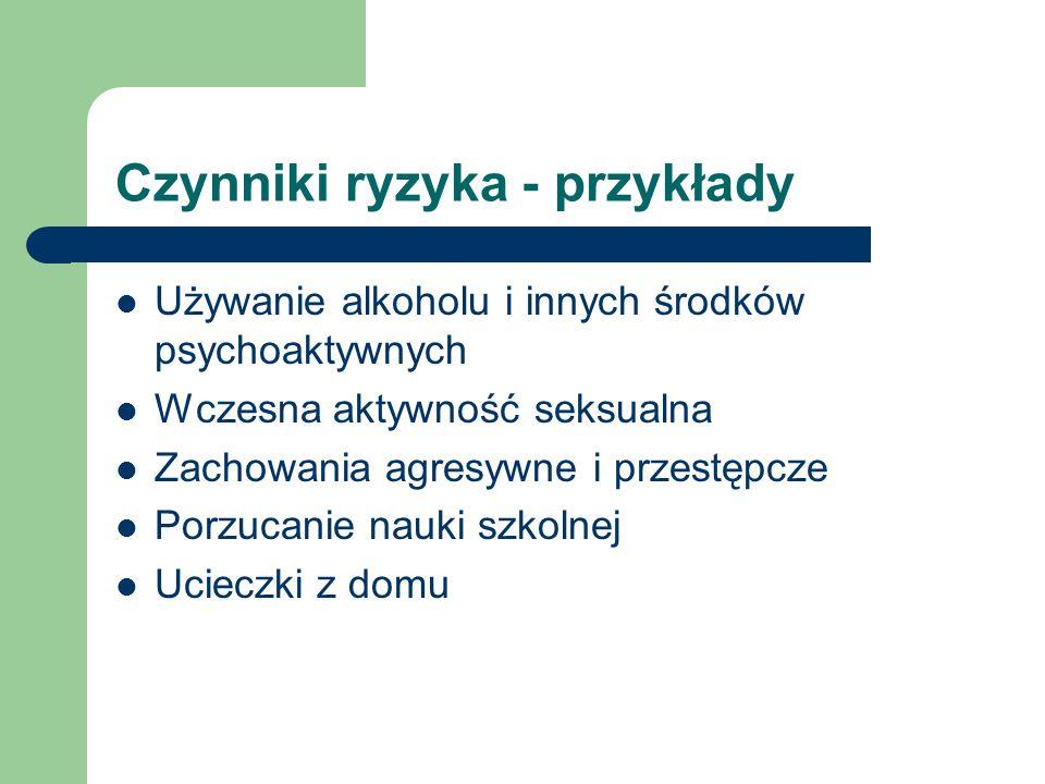 Stary podział poziomów profilaktyki Profilaktyka I stopnia (wczesna, pierwszorzędowa) Działania adresowane do ogólnej populacji dzieci i młodzieży szkolnej.