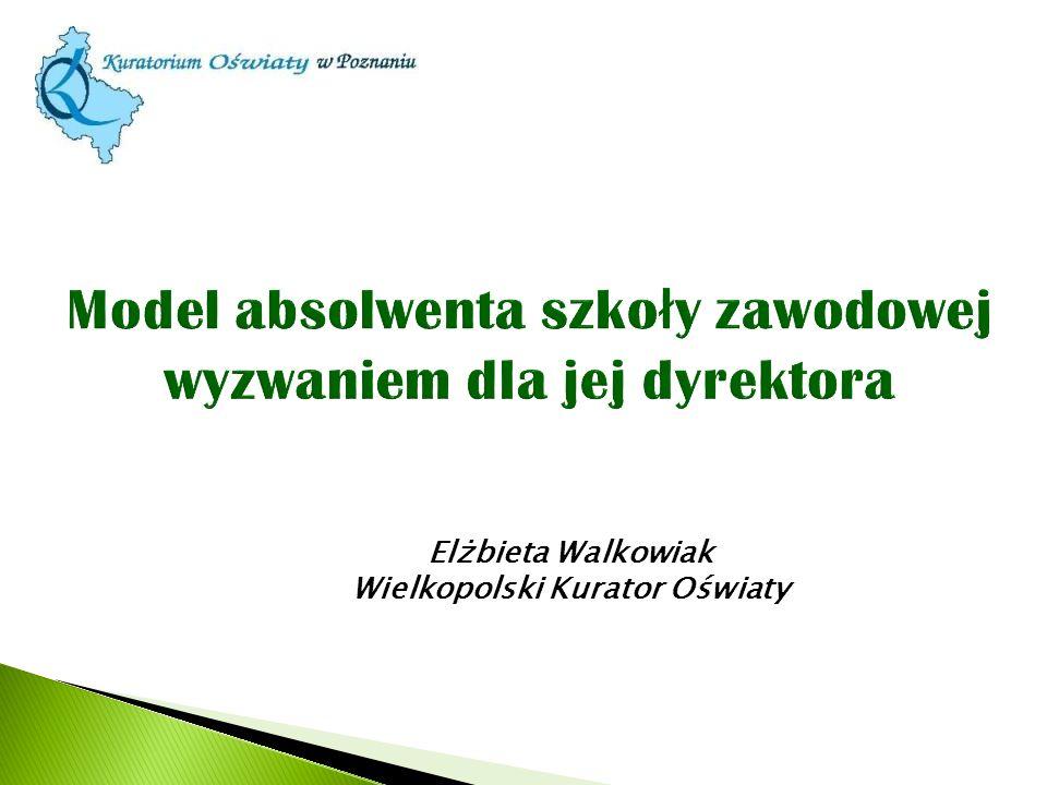 Elżbieta Walkowiak Wielkopolski Kurator Oświaty