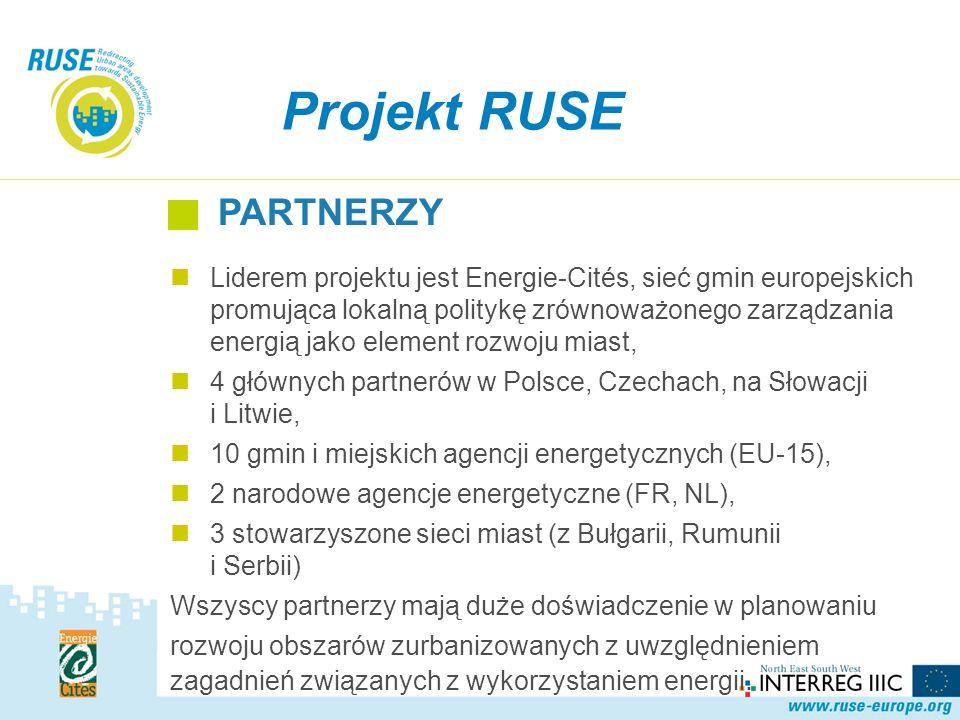 Liderem projektu jest Energie-Cités, sieć gmin europejskich promująca lokalną politykę zrównoważonego zarządzania energią jako element rozwoju miast, 4 głównych partnerów w Polsce, Czechach, na Słowacji i Litwie, 10 gmin i miejskich agencji energetycznych (EU-15), 2 narodowe agencje energetyczne (FR, NL), 3 stowarzyszone sieci miast (z Bułgarii, Rumunii i Serbii) Wszyscy partnerzy mają duże doświadczenie w planowaniu rozwoju obszarów zurbanizowanych z uwzględnieniem zagadnień związanych z wykorzystaniem energii.