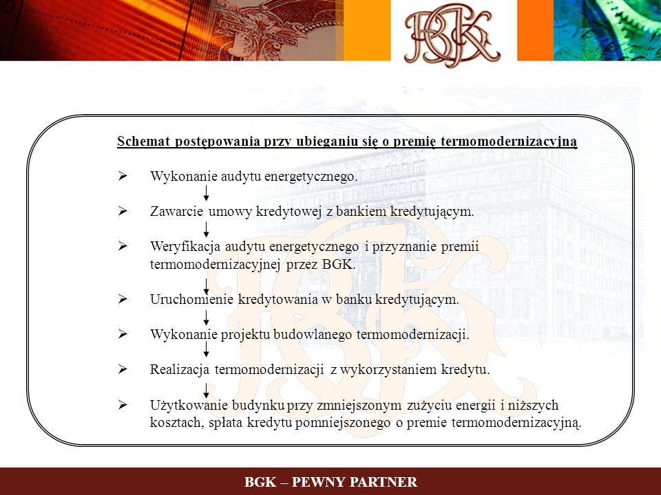 9 Informacje dotyczące wyników Funduszu Termomodernizacji od początku funkcjonowania programu do dnia 31.03.2007 r.