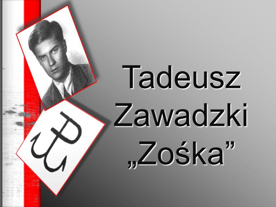 Nasz bohater urodził się 24 stycznia 1921r.w Warszawie.