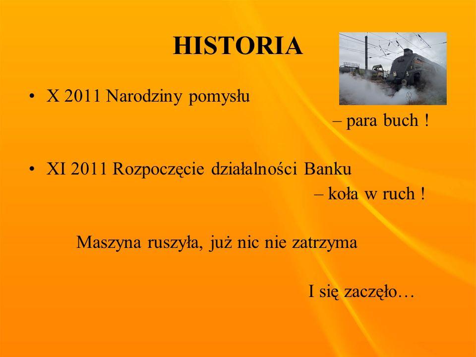 HISTORIA X 2011 Narodziny pomysłu – para buch .
