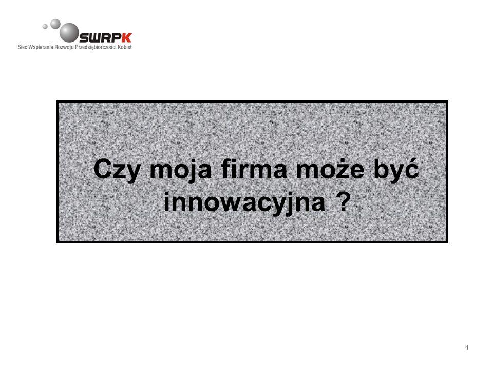 4 Czy moja firma może być innowacyjna ?