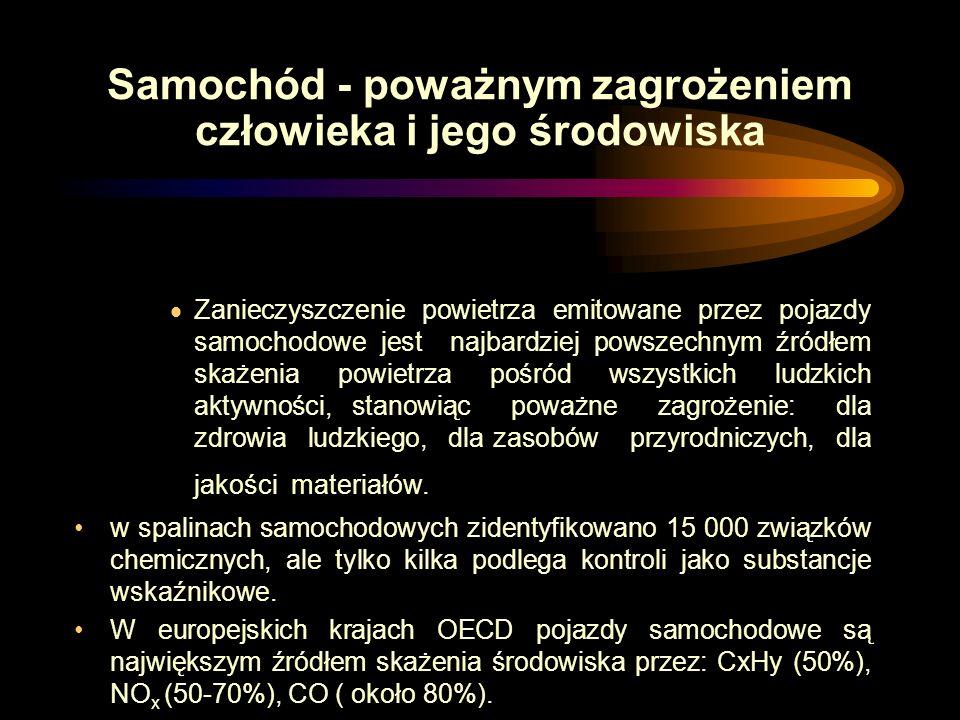 Ograniczenie ruchu samochodowego wyzwaniem współczesności Dr inż Tadeusz Kopta Seminarium, Kraków 20 września 2006
