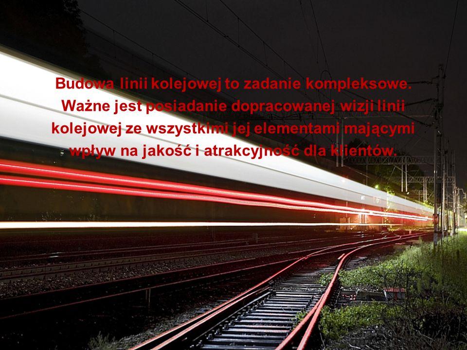 Budowa linii kolejowej to zadanie kompleksowe. Ważne jest posiadanie dopracowanej wizji linii kolejowej ze wszystkimi jej elementami mającymi wpływ na