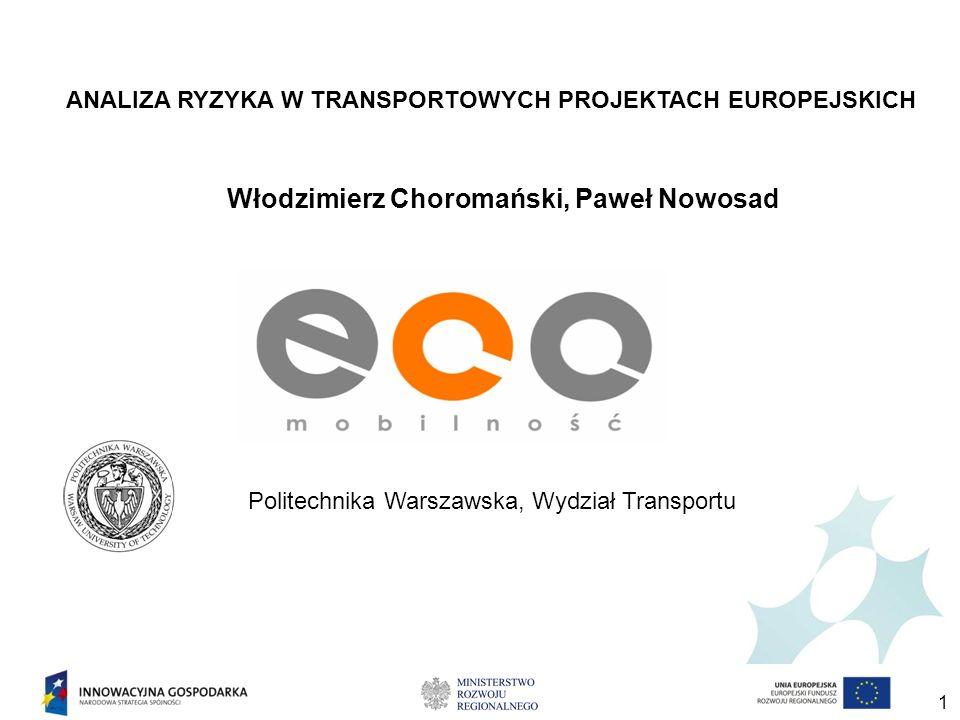 Obszar rozważań Projekty badawcze i wdrożeniowe dotyczące innowacyjnych systemów transportowych w aglomeracjach miejskich oraz innowacje związane z szeroko rozumianą mobilnością.