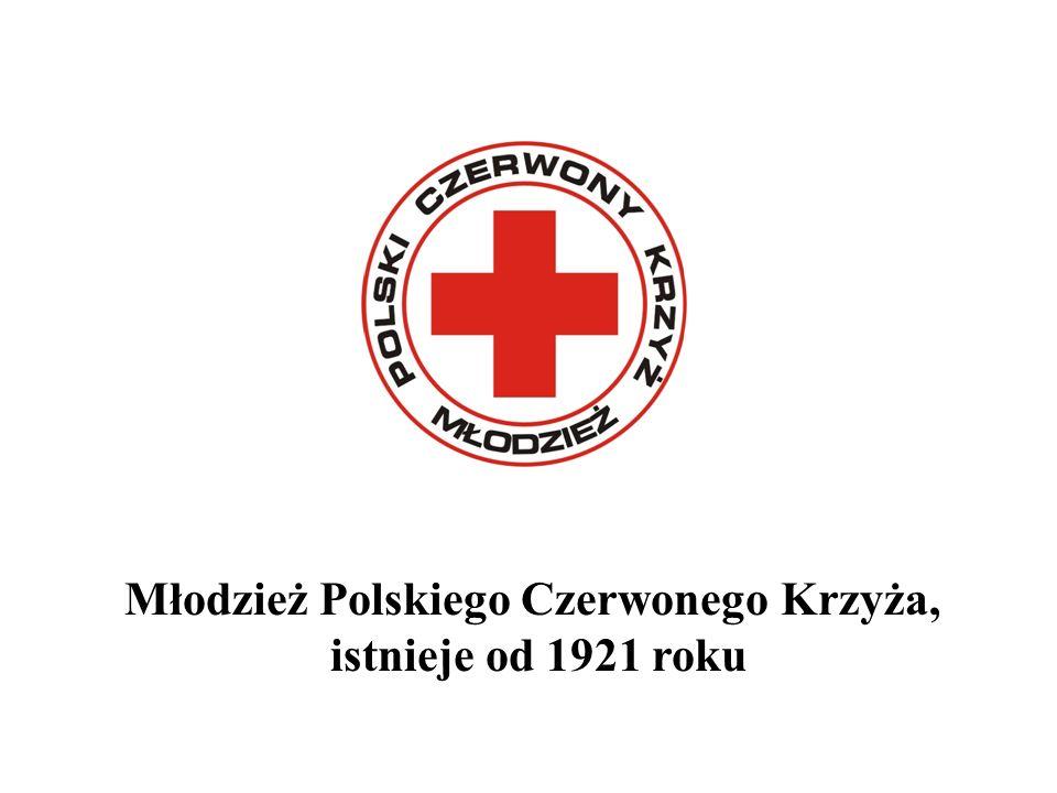 Młodzież Polskiego Czerwonego Krzyża, istnieje od 1921 roku