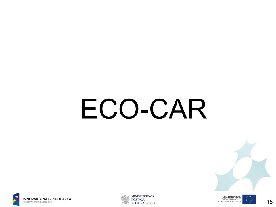 15 ECO-CAR