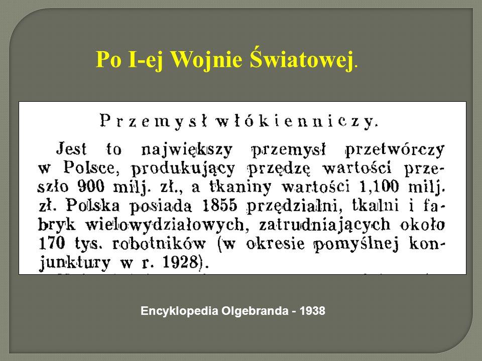 Po I-ej Wojnie Światowej. Encyklopedia Olgebranda - 1938