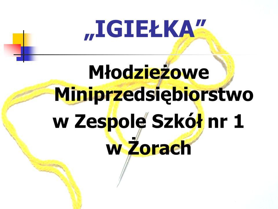 IGIEŁKA Młodzieżowe Miniprzedsiębiorstwo w Zespole Szkół nr 1 w Żorach