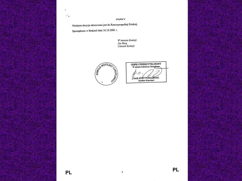 Etapy dochodzenia do dużych pieniędzy unijnych w akwakulturze 1 ETAP Program operacyjny Przekazany do Brukseli w dniu 8 lipca br.