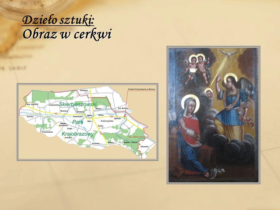Obraz w cerkwi Dzieło sztuki: Obraz w cerkwi