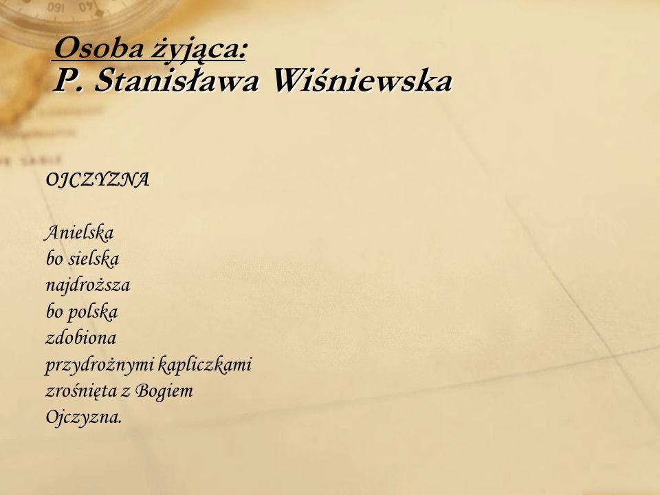 Piosenka śpiewana na melodie Ballada o Franciszce Muzyka: Piosenka śpiewana na melodie Ballada o Franciszce Co to takiego jest w Kraśniczynie Zielonym kolorem zaprasza Skromny budynek to Bank Spółdzielczy A wewnątrz jego jest kasa O siódmej rano Banku obsługa Spieszy do swojej roboty Są uśmiechnięci zadowoleni Dodają pracy ochoty Główną regułą Banku Polskiego Być członkiem mieć wkład w całości Niech wszyscy wiedzą o co tu chodzi I niech nam każdy zazdrości Radzi pomaga i informuje Różnych kredytów udziela Nie masz w terminie spłacisz za tydzień Procentu z tego niewiele Powiemy szczerze i jednym głosem Hodowla dziś się opłaci Ty trzymaj świnie a ja jałówki A Bank za wszystko zapłaci Drodzy rolnicy do was się tyczy By w województwach wyprzedzać Zachowaj hasło – powiedz drugiemu Oszczędzaj i ucz oszczędzać.
