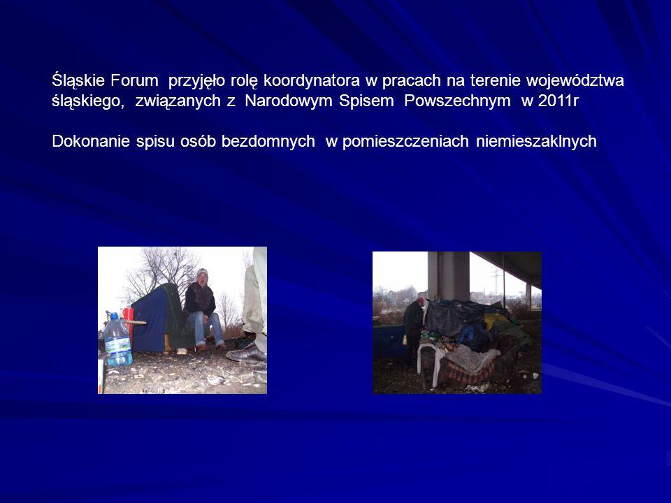 Śląskie Forum przyjęło rolę koordynatora w pracach na terenie województwa śląskiego, związanych z Narodowym Spisem Powszechnym w 2011r Dokonanie spisu