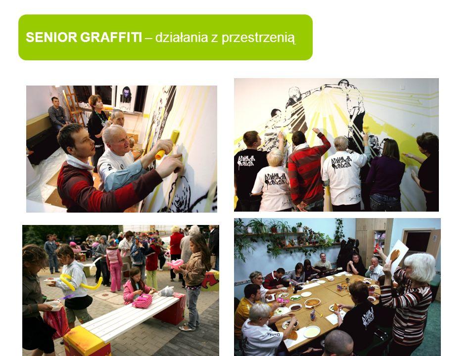 SENIOR GRAFFITI – działania z przestrzenią