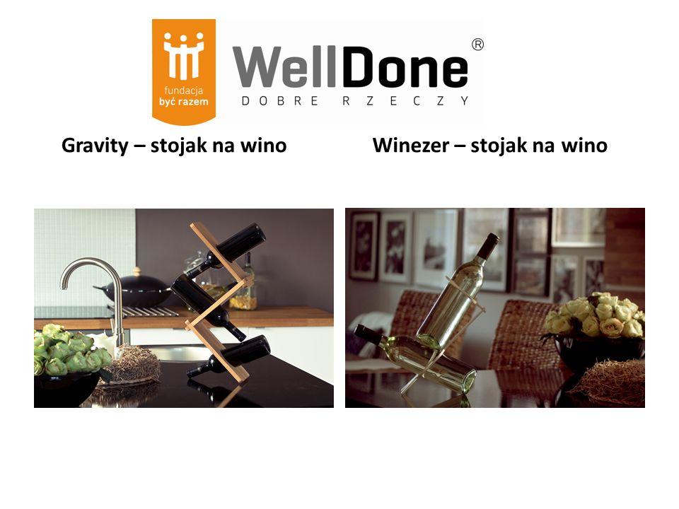 Gravity – stojak na wino Winezer – stojak na wino