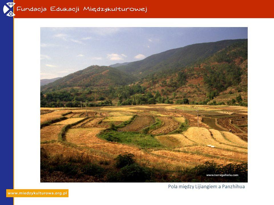 Pola między Lijiangiem a Panzhihua