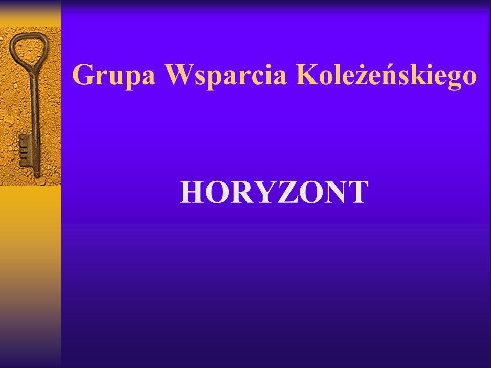Grupa Wsparcia Koleżeńskiego HORYZONT