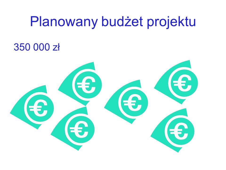 Planowany budżet projektu 350 000 zł