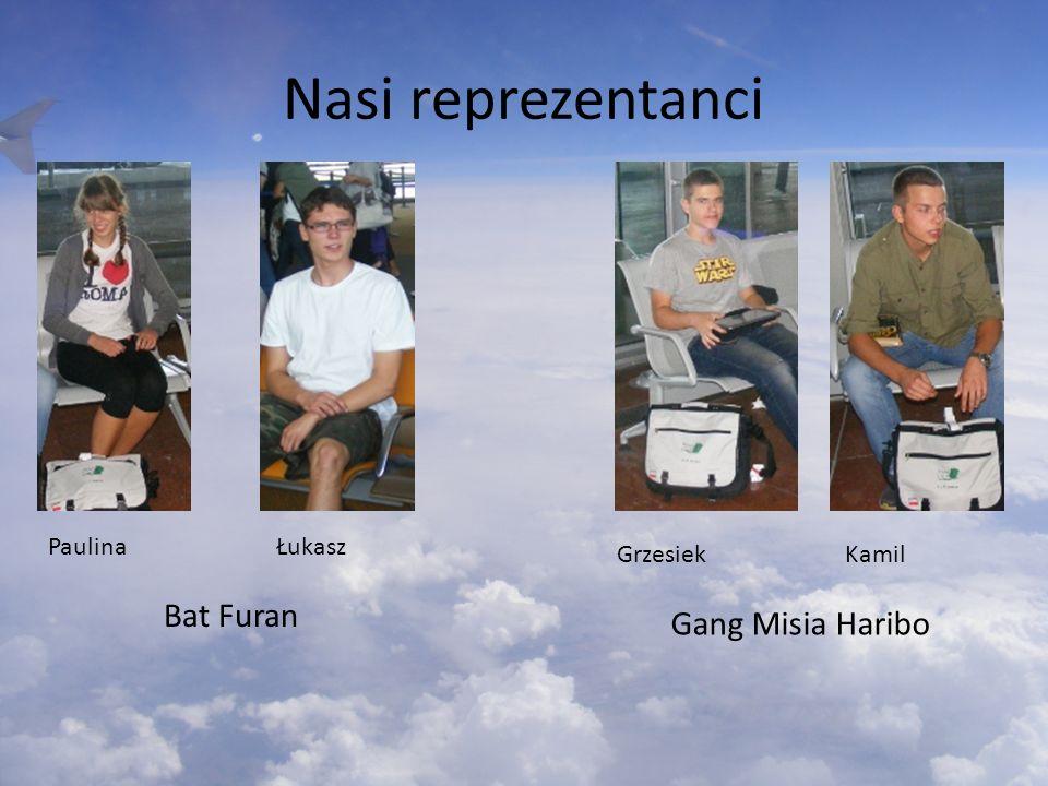 Nasi reprezentanci Paulina Łukasz Bat Furan Grzesiek Kamil Gang Misia Haribo