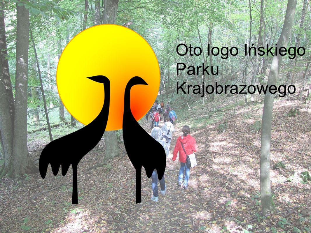 Oto logo Ińskiego Parku Krajobrazowego