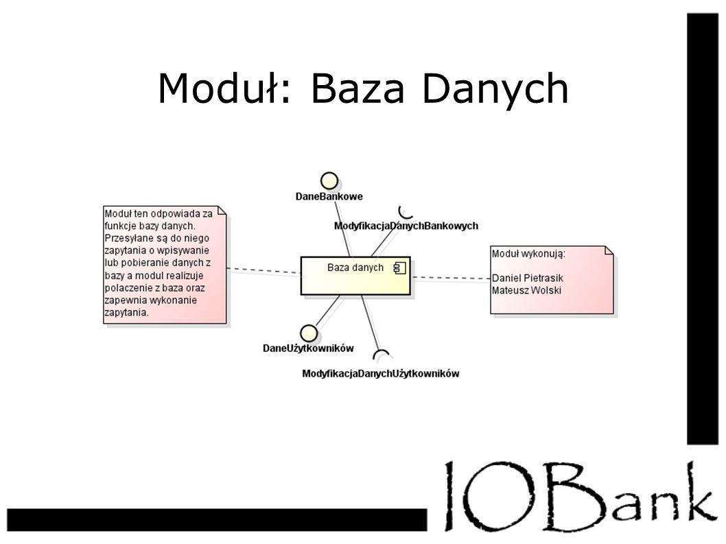 Moduł: Baza Danych