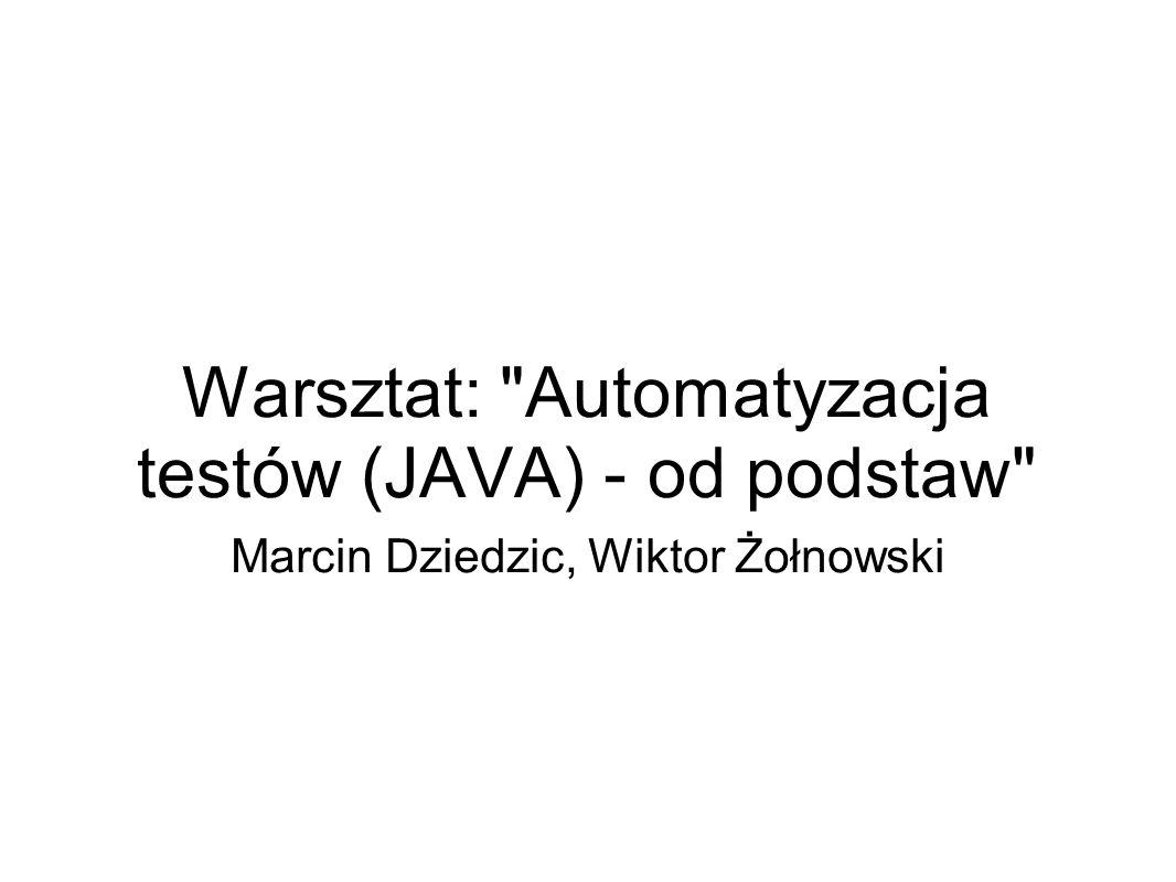 Warsztat: