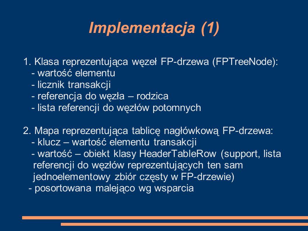 Implementacja (1) 1.