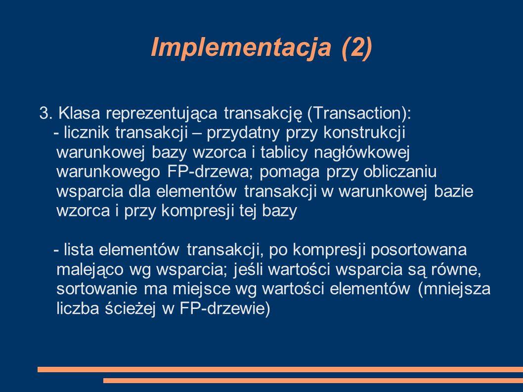 Implementacja (2) 3.