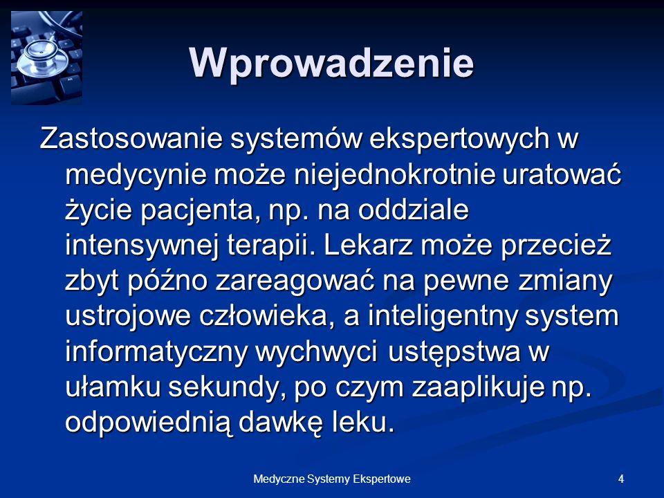 135Medyczne Systemy Ekspertowe Doktorek – Implementacja Doktorek – Implementacja 2.