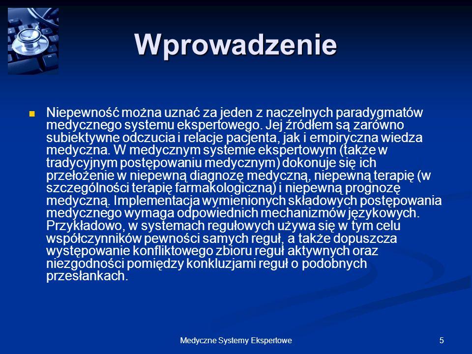 136Medyczne Systemy Ekspertowe Doktorek – Implementacja Doktorek – Implementacja 2.