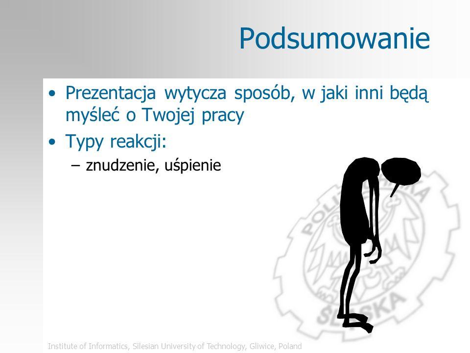 Institute of Informatics, Silesian University of Technology, Gliwice, Poland Błędy językowe – zły przykład Szczepankowskis Gestographic Notation (SGN)