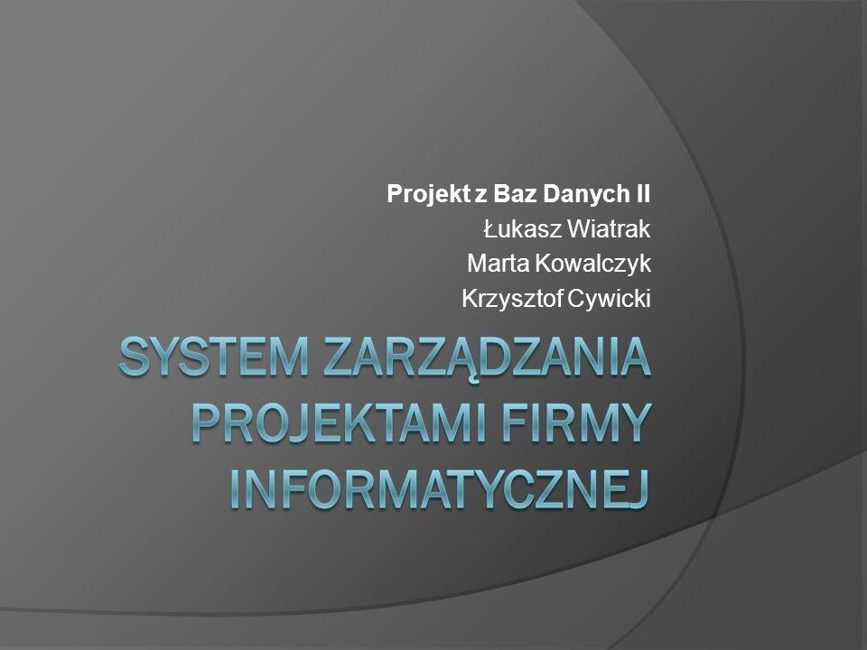 SZPIF – Obsługa zadań projektowych Tworzenie zadań dla projektów.