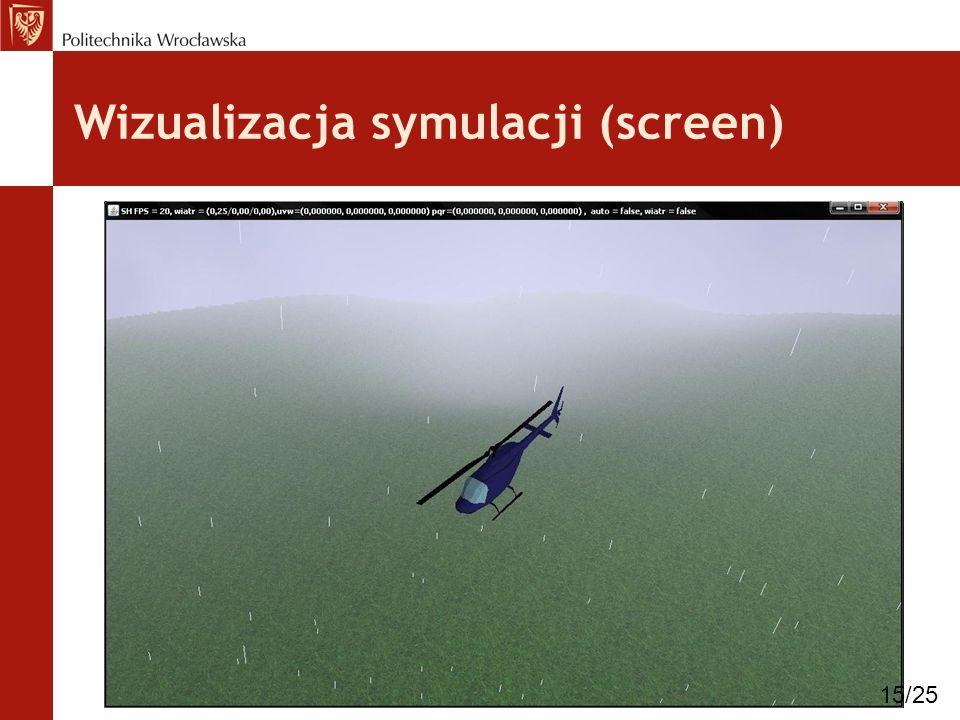 Wizualizacja symulacji (screen) 15/25