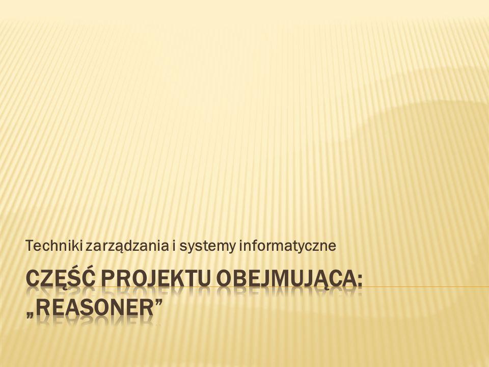 Techniki zarządzania i systemy informatyczne