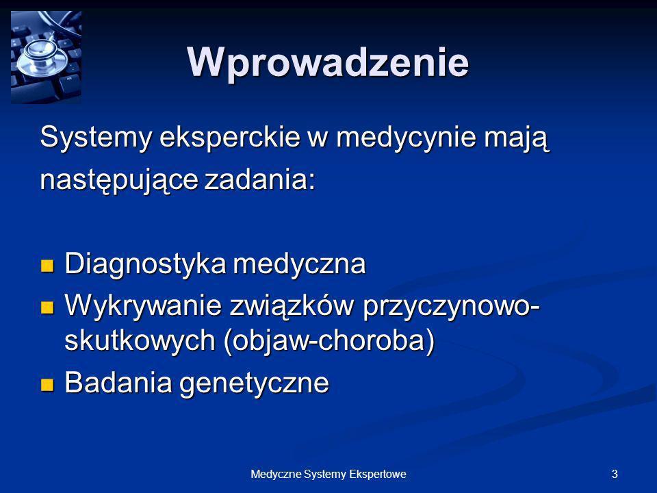 124Medyczne Systemy Ekspertowe Doktorek – Implementacja 2.