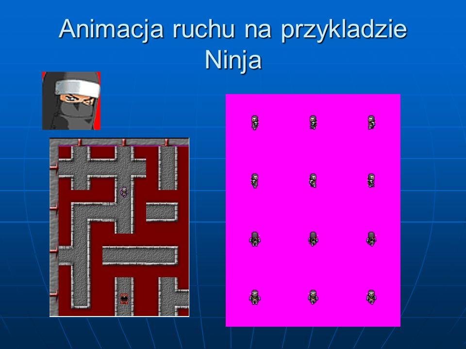 Animacja ruchu na przykladzie Ninja