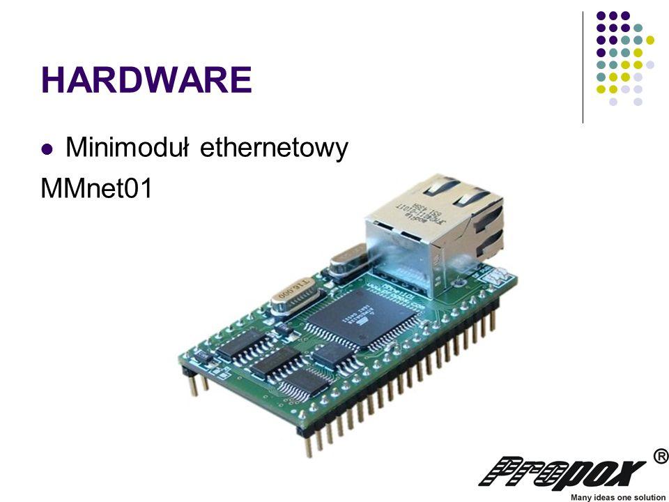 HARDWARE Minimoduł ethernetowy MMnet01